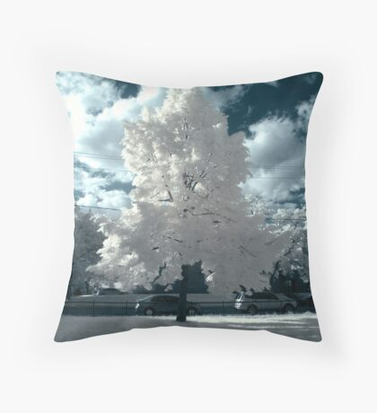 Candy Flossy Throw Pillow