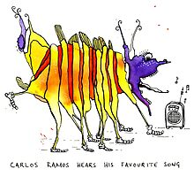 Carlos Ramos hears his favourite song by scatterlings