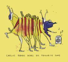 Carlos Ramos hears his favourite song Baby Tee