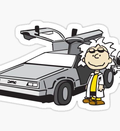 Doc Brown Sticker