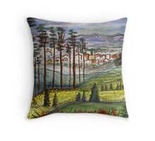 Alabama Pines Throw Pillow