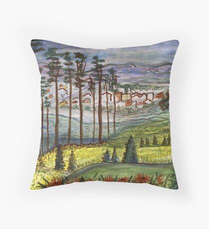 Alabama Pines Throw Pillow