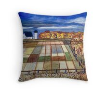 Kansas Farm Throw Pillow