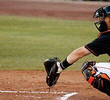 The Baseball Catcher by Buckwhite