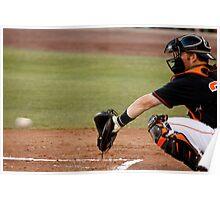 The Baseball Catcher Poster