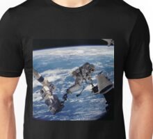 Space Walk Astronaut Unisex T-Shirt