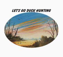 Let's Go Duck Hunting Kids Tee
