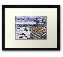 Rocky Coast Maine Framed Print