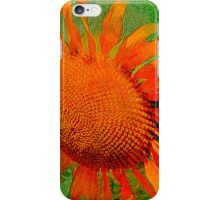 Orange Sunflower iPhone Case/Skin