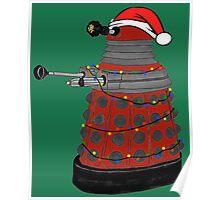 Festive Dalek. Poster