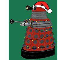 Festive Dalek. Photographic Print