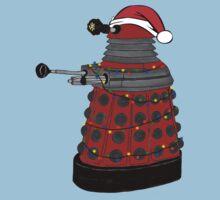 Festive Dalek. Kids Tee