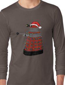 Festive Dalek. Long Sleeve T-Shirt