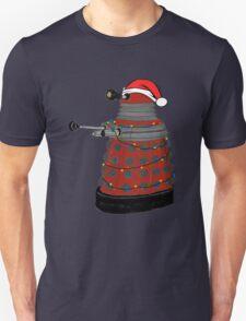 Festive Dalek. Unisex T-Shirt