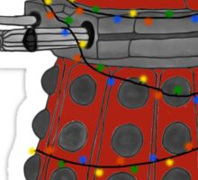 Festive Dalek. Sticker