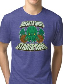 Miskatonic Starspawn Tri-blend T-Shirt
