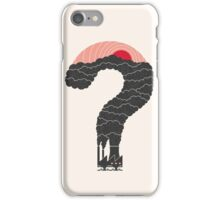 Why? iPhone Case/Skin