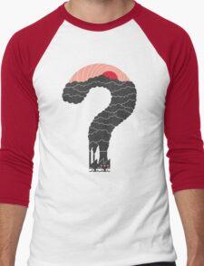 Why? Men's Baseball ¾ T-Shirt