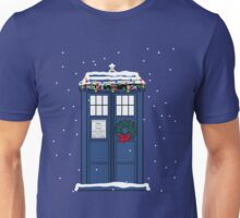 Festive Police Public Call Box. Unisex T-Shirt