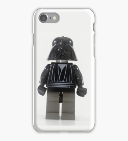 Star wars action figure Darth Vader  iPhone Case/Skin