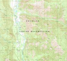 USGS Topo Map Washington State WA Louie Creek 242075 1989 24000 Sticker