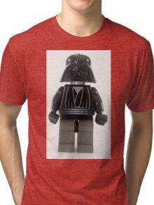Star wars action figure Darth Vader  Tri-blend T-Shirt