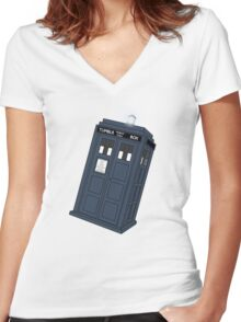 Tumblr And Relative Dimensions In (cyber)Space. Women's Fitted V-Neck T-Shirt