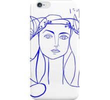Picasso's Muse iPhone Case/Skin
