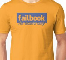 Parody, failbook, for losers only Unisex T-Shirt