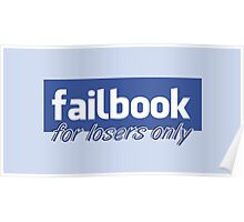 Parody, failbook, for losers only Poster