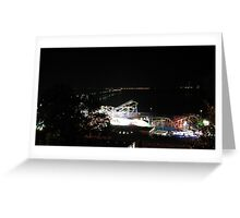 Southend at Night Greeting Card