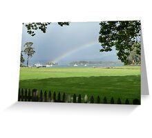 Isle of the Dead Rainbow Greeting Card