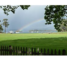 Isle of the Dead Rainbow Photographic Print