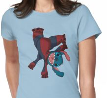 Spider Stitch Womens Fitted T-Shirt