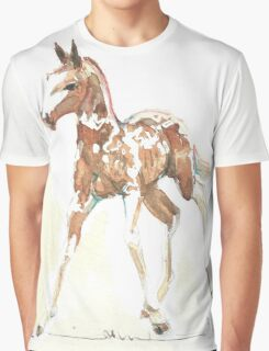 foal Pinto Graphic T-Shirt