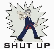 "The Twelfth Doctor--Pilgrim-Style ""Shut Up"". Kids Clothes"