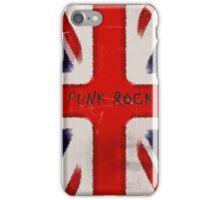 Punk Rock iPhone Case/Skin