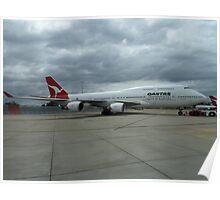 Qantas 747 Poster