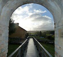 Port Arthur Sunset Arch by amkaberry