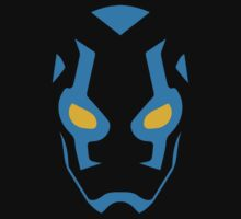 Blue Beetle Mask Baby Tee
