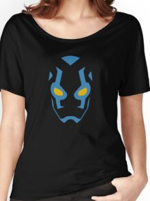 Blue Beetle Mask Women's Relaxed Fit T-Shirt