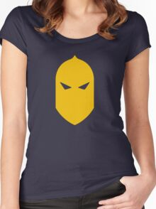 Dr. Fate Helmet Women's Fitted Scoop T-Shirt