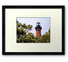 Currituck Beach Lighthouse, Carolla, North Carolina Framed Print