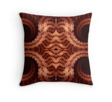Spiral Lace Throw Pillow