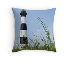Bodie Island Lighthouse, Outer Banks, North Carolina Throw Pillow