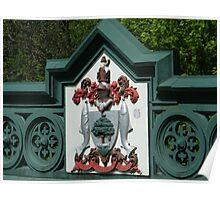 Glasgow Motto on Great Western Bridge. Poster