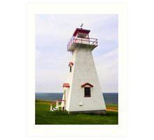 Cape Tryon Light, Prince Edward Island, Canada Art Print