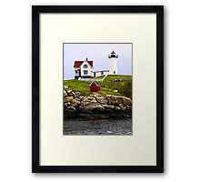 Cape Neddick's Nubble LIght, York, Maine Framed Print