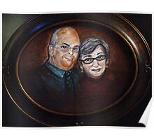 Gary and Sue by Regina Brandt Poster