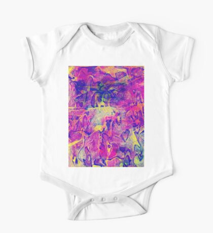 0128 Abstract Thought One Piece - Short Sleeve
